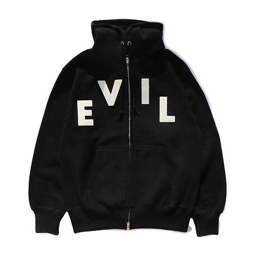 【EVIL】felt zipup hoodie