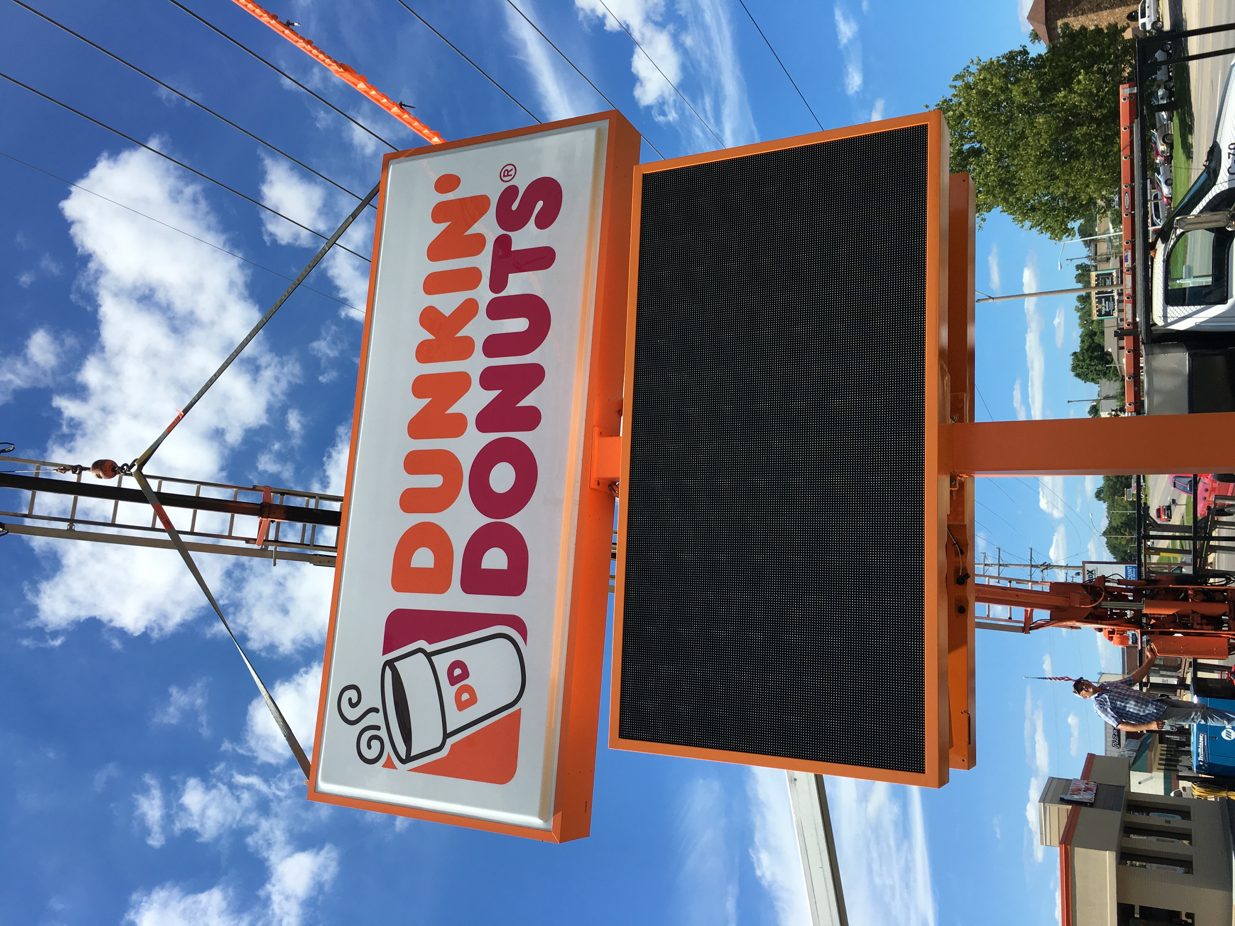 low price led sign