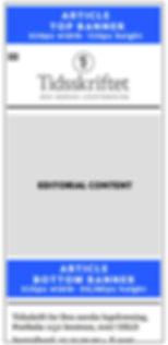 Mobil artikkel med annonser forenklet sk