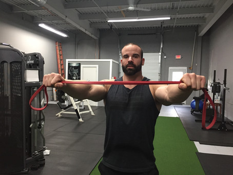 How to prevent shoulder pain/injuries using bands