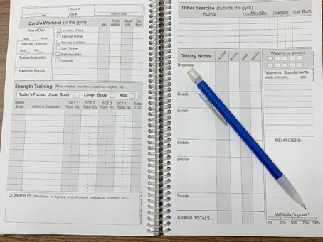 The Benefits of Keeping a Workout/Nutrition Journal