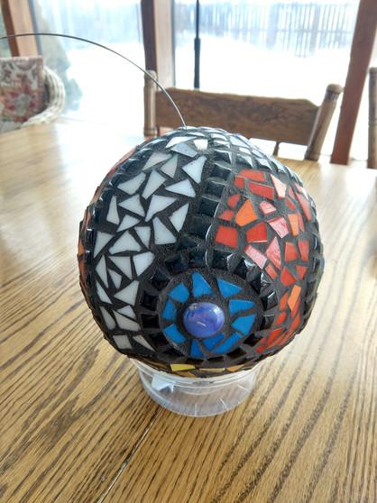 Garden Gazing Ball (2)