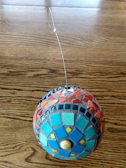 Garden Gazing Ball (1)