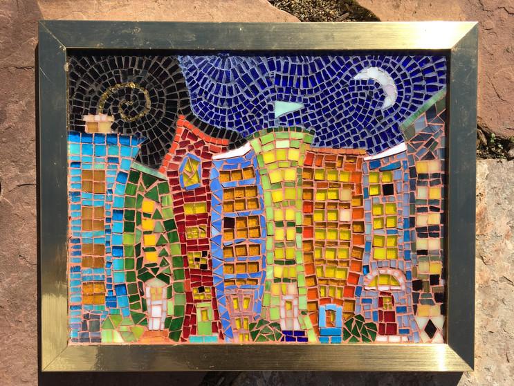Mosaic Cityscape
