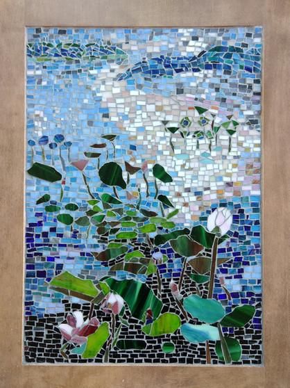Water Lily Mosaic