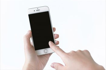iPhoneの画面の不具合