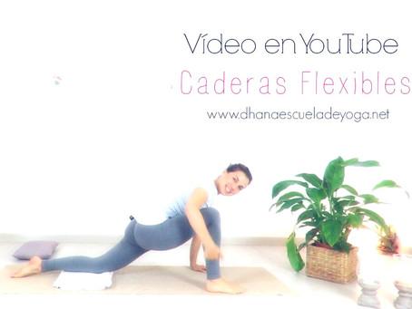 Caderas flexibles y fuertes.