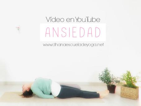 Yoga. La Ansiedad.