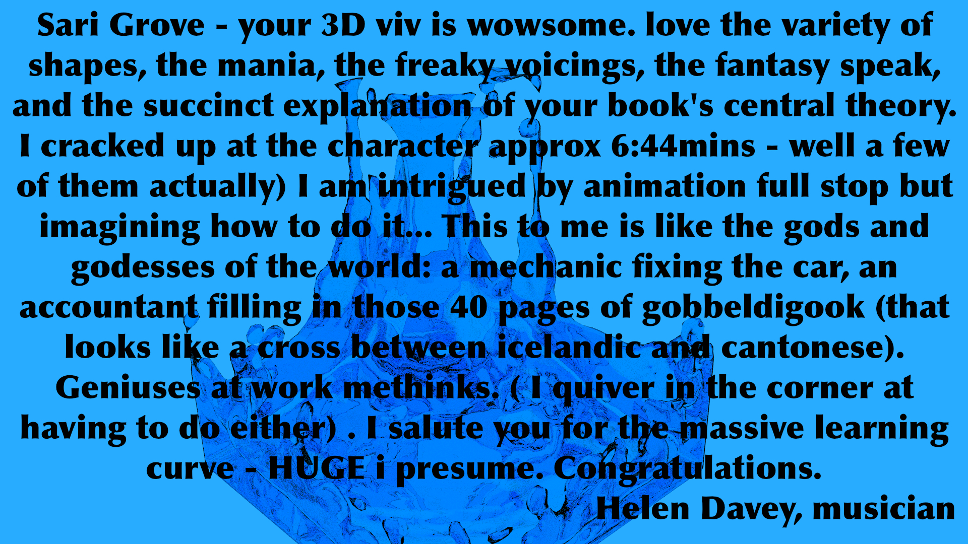 A review of our 3d animation movie