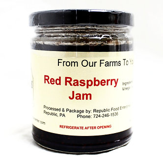 RFEC Red Rasberry Jam (9oz)