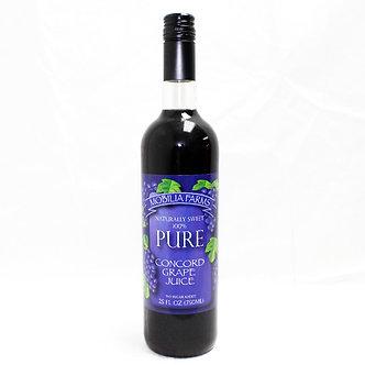 Mobilia Farms, Grape Juice (25oz)