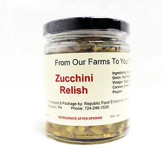 RFEC Zucchini Relish (9oz)