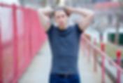 Ryan Faino | Fitness Modeling on Roosevelt Island, New York City.