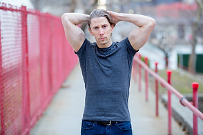 Ryan Faino | Fitness Modeling on Roosevelt Island, New York City.