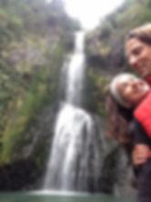 Ryan Faino & Lindsey Bliven | Kitekite Falls, New Zealand