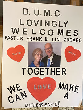 Welcome Pastor Frank and LIn.jpeg