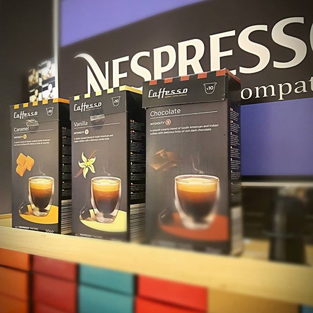 Some flavours for your Nespresso brewer