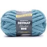 Chunky Blanket Yarn 1 Skein - Adriatic Blue