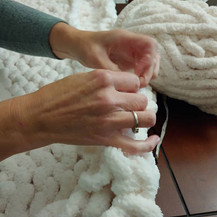 Coming soon! Our Chunky Blanket workshop