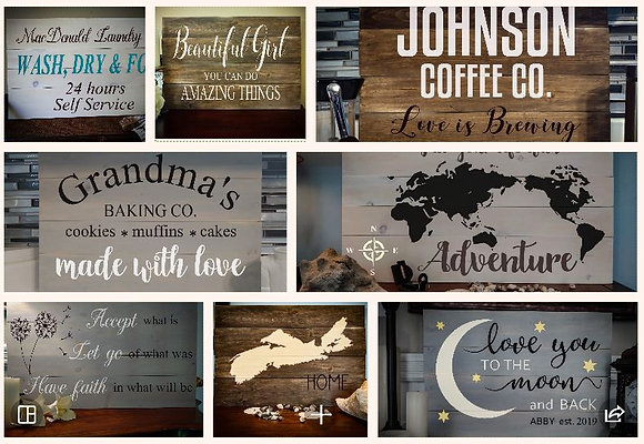 Rustic Farmhouse Sign $38 generic