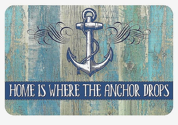 "CUSTOM 3D sign - 23.5"" anchor carved 1/4"" raised 4 weeks"