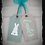 """Thumbnail: Wooden Door Tags """"Easter / Bunny"""" 17""""x 16"""" (attached tag size)"""