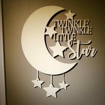 3D sign - Twinkle Twinkle 22x28  fully finished