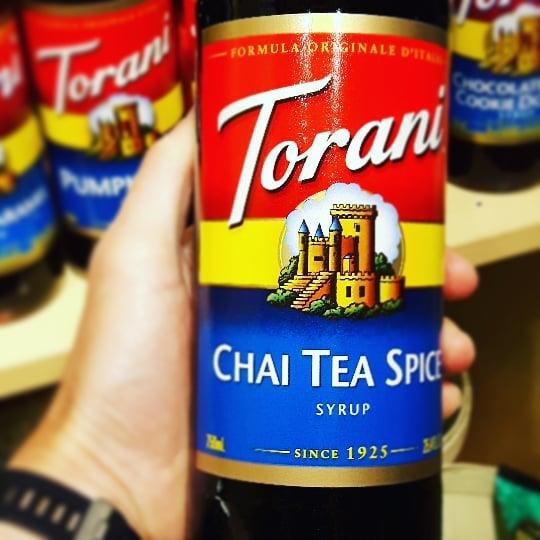 Love Chai_ #torani #italiansyrup