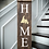 "Thumbnail: ""HOME province"" Large Porch Sign 11x48"