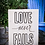 """Thumbnail: Rustic Wooden Sign Project """"Love Never Fails""""  18""""x 24"""""""