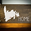 """Thumbnail: Rustic Wooden Sign project """"Map / Home"""" 14""""x24"""""""