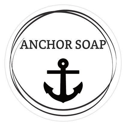 "CUSTOM 3D sign anchor soap shiplap - 23.5"" round"