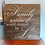 "Thumbnail: Rustic Wooden Sign ""Family / Love"" 23""x23"""