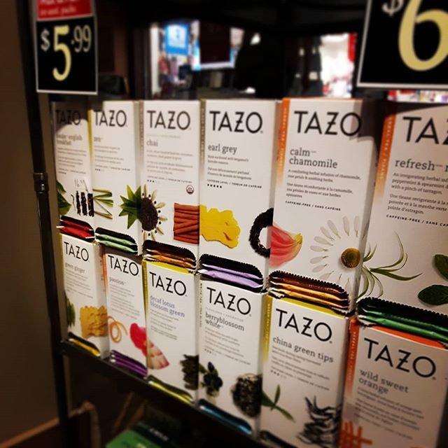 Super expanded #tazo selection #mixandma