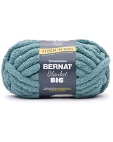 Chunky Blanket Yarn 1 Skein -frosted green