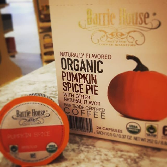 Awesome pumpkin spice coffee! #organic a