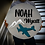"""Thumbnail: 3D sign - Two Names - Plane 23.5"""" round fully finished"""