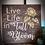 "Thumbnail: Rustic Wooden Sign ""Full Bloom"" 23""x23"""