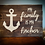 "Thumbnail: Rustic Wooden Sign Project ""Family Anchor""   18""x 24"""