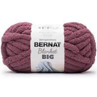 Chunky Blanket Yarn 1 Skein - Plum Purple