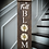 """Thumbnail: """"In full bloom"""" Large Porch Sign 11""""x48"""""""