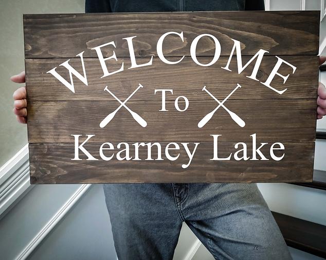 14x24 welcome lake rustic lake