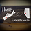 "Thumbnail: Rustic Wooden Sign  ""Home is where the Heart is""  18""x32"" Fully Finished"