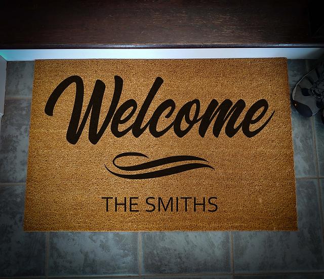 Coir Doormat Large - Asst. Styles