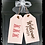 """Thumbnail: Wooden Door Tags """"Welcome / PEEPS""""  17""""x 16"""" (attached tag size)"""