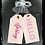 "Thumbnail: Wooden Door Tags ""Hello Spring""  17""x 16"" (attached tag size)"