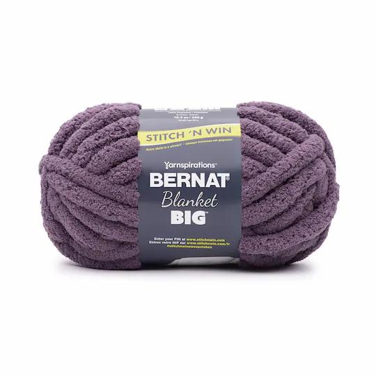 Chunky Blanket Yarn 1 Skein - Winter Grape