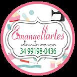 Emanuellartes Artesanato - sos local - ecosmart cartão de visita digital interativo virtual