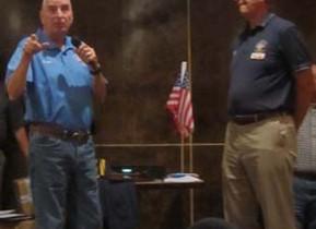 Bruce Ballard First Meeting not as an officer in 13 yrs
