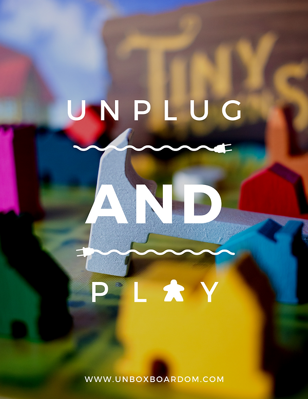 Unplug and play with Unbox Boardom, the industry's best board game subscription service.